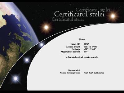 Certificate RO